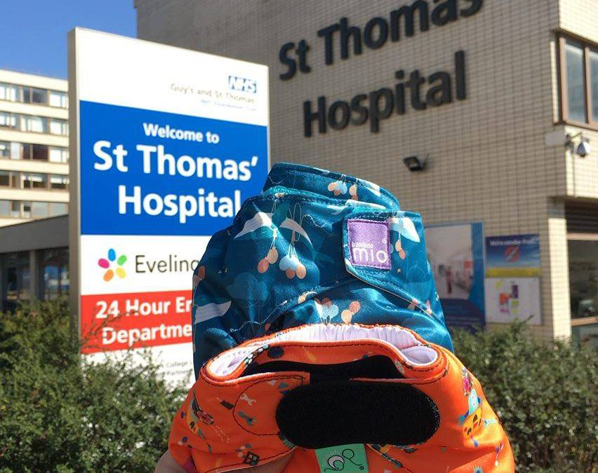 Reusable Nappy Talks at St Thomas' Hospital