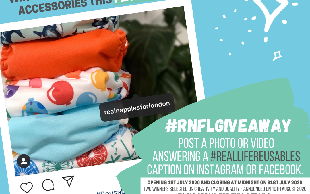 Real Life Reusables #RNfLGIVEAWAY for Plastic Free July